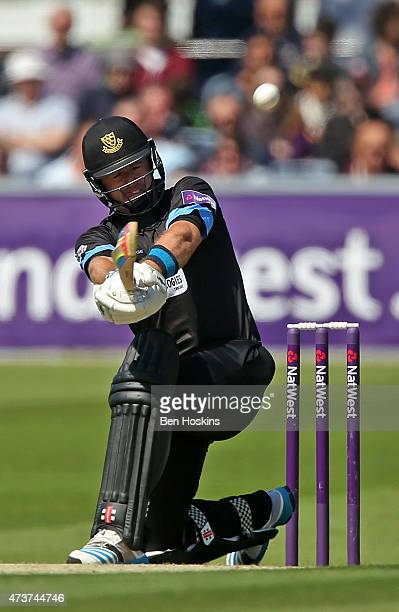 Chris Nash of Sussex in action during the Natwest T20 blast match between Sussex and Gloucestershire at BrightonandHoveJobscom County Ground on May...