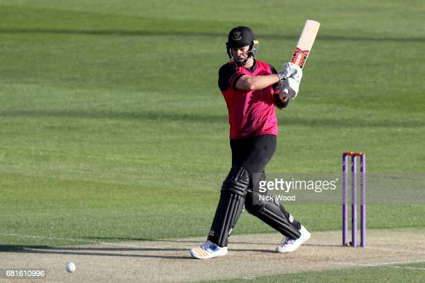 Chris Nash of Sussex in batting action during the Royal London OneDay Cup between Essex Eagles and Sussex Sharks at Cloudfm County Ground on May 10...