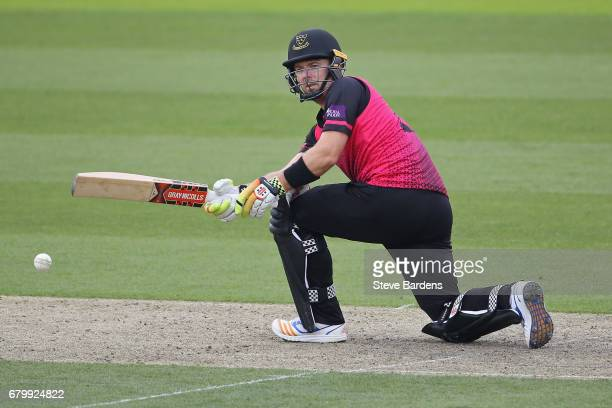 Chris Nash of Sussex plays a shot during the Royal London OneDay Cup match at The 1st Central County Ground on May 7 2017 in Hove England
