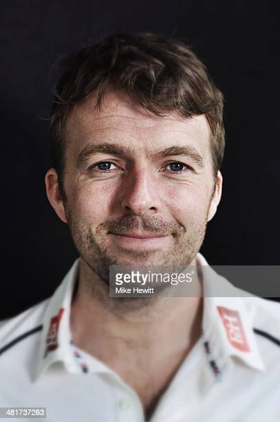Chris Nash of Sussex poses for a portrait during a Sussex CCC photocall at the County Ground on March 31 2014 in Hove England
