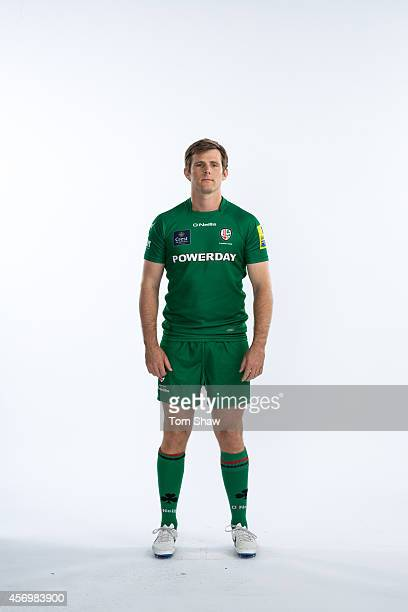 Chris Noakes of London Irish poses for a picture during the BT PhotoShoot at Sunbury Training Ground on August 27 2014 in Sunbury England