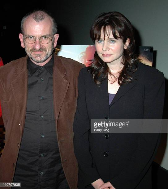 Chris Noonan and Emily Watson during American Cinematheque Screening of Miss Potter and QA with Emily Watson and Director Chris Noonan at Aero...