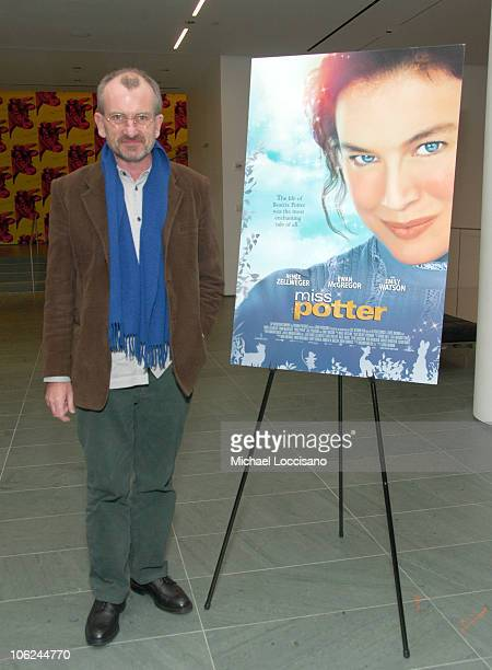 Chris Noonan Director during Miss Potter Special Private Screening at MoMA Theatre in New York City New York United States
