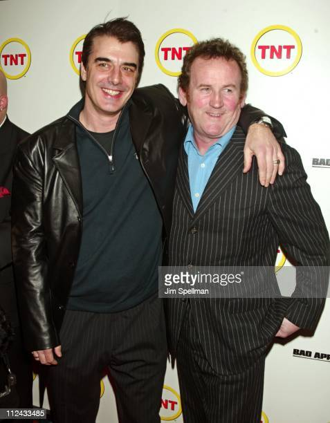 Chris Noth and Colm Meaney during Bad Apple New York Premiere at Loews Cineplex in New York City New York United States