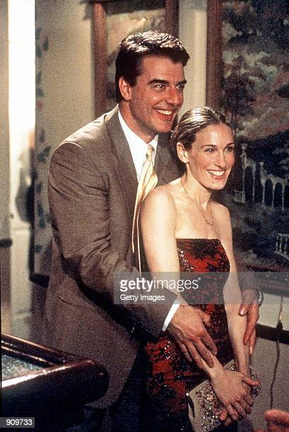 Chris Noth and Sarah Jessica Parker star in Sex And The City 1999 Paramount Pictures