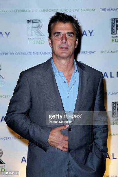 Chris Noth attend THE ALMAY CONCERT to Celebrate the RAINFOREST FUND'S 21st Birthday at The Plaza Hotel on May 13th 2010 in New York City