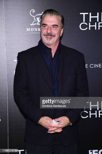 Chris Noth attends a screening of Three Christs hosted by IFC and the Cinema Society at Regal Essex Crossing on January 09 2020 in New York City