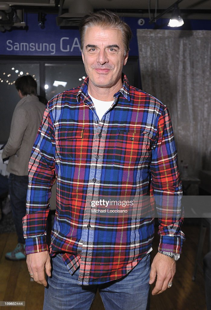 Chris Noth attends Day 4 of Samsung Galaxy Lounge at Village At The Lift 2013 on January 21, 2013 in Park City, Utah.