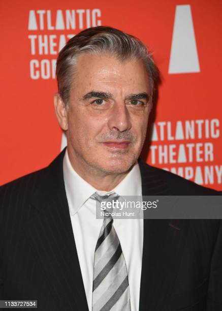 Chris Noth attends the Atlantic Theater Company 2019 Gala at The Plaza on March 04 2019 in New York City