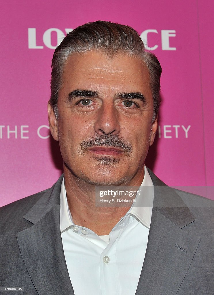 Chris Noth attends The Cinema Society and MCM with Grey Goose screening of Radius TWC's 'Lovelace' at Museum of Modern Art on July 30, 2013 in New York City.