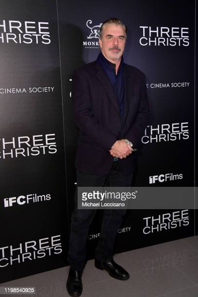Chris Noth attends the IFC And The Cinema Society Host A Screening Of Three Christs at Regal Essex Crossing on January 09 2020 in New York City