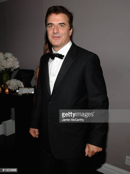 Chris Noth attends the Nina Ricci After Party For Met Ball Hosted By Olivier Theyskens and Lauren Santo Domingo at Philippe in New York on May 5,2008