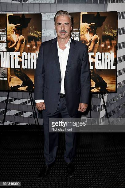 Chris Noth attends the 'White Girl' New York Premiere at Angelika Film Center on August 22 2016 in New York City