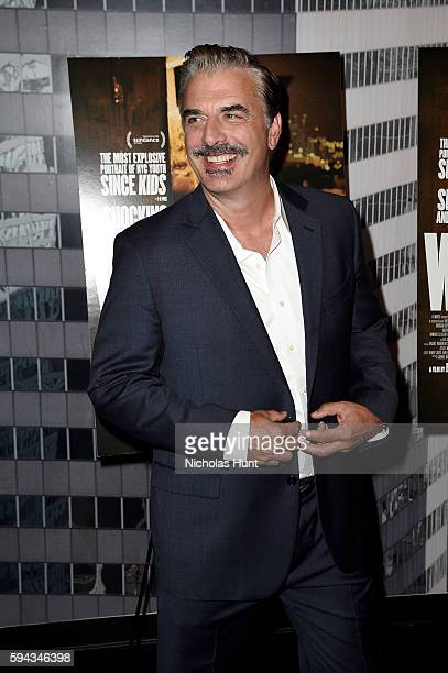 Chris Noth attends the White Girl New York Premiere at Angelika Film Center on August 22 2016 in New York City