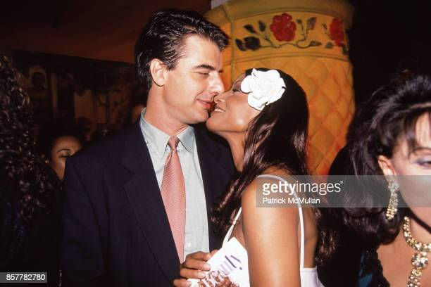 Chris Noth Beverly Johnson Nikki Haskell 'True Beauty' Publication Party Plaza Hotel NYC June 21 1994