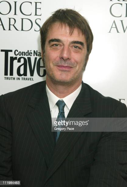 Chris Noth during 16th Annual Conde Nast Traveler Readers Choice Awards Inside at The Guggenheim Museum in New York City New York United States
