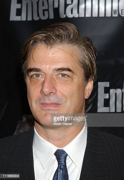 Chris Noth during Entertainment Weekly Oscar Viewing Party at Elaine's Restaurant in New York NY United States