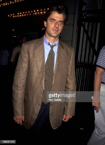 Chris Noth during Play Performance of Hamlet July 17 1995 at Belasco Theater in New York City New York United States