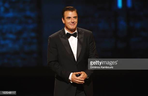 Chris Noth speaks onstage during the 64th Annual Tony Awards at Radio City Music Hall on June 13 2010 in New York City