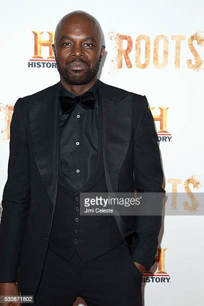 """Chris Obi, attends as HISTORY presents night one of the epic event series """"Roots"""" at Alice Tully Hall on May 23, 2016 in New York City."""
