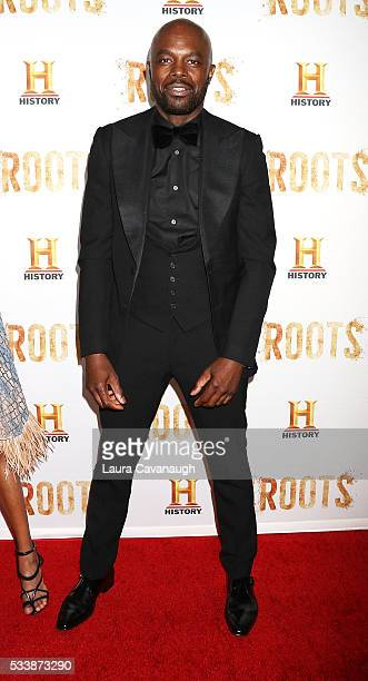 """Chris Obi attends """"Roots"""" Night One Screening at Alice Tully Hall, Lincoln Center on May 23, 2016 in New York City."""
