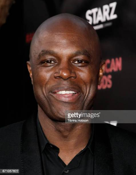 Chris Obi attends the premiere of Starz's 'American Gods' at ArcLight Cinemas Cinerama Dome on April 20, 2017 in Hollywood, California.