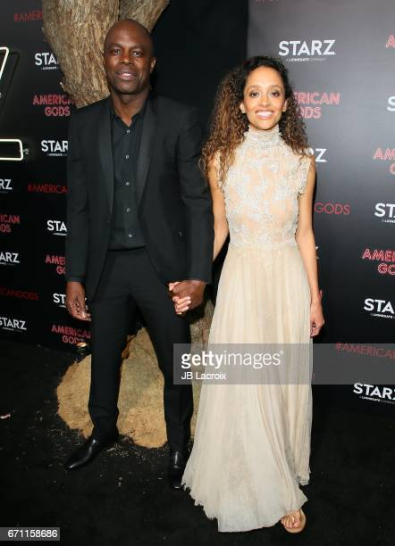 Chris Obi attends the premiere Of Starz's 'American Gods' on April 20, 2017 in Hollywood, California.
