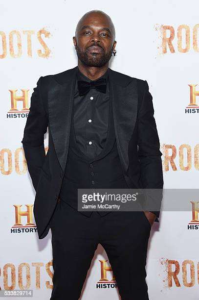 """Chris Obi attends the """"Roots"""" night one screening at Alice Tully Hall, Lincoln Center on May 23, 2016 in New York City."""