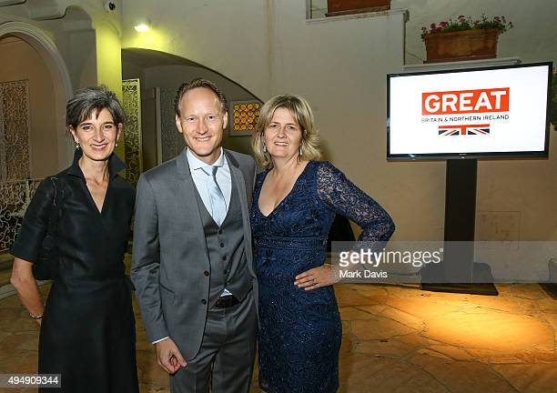 Chris O'Connor British Consul General Southwest Region United States and wife Martha Nelems Senior Associate at Child Frontiers Greater Los Angeles...