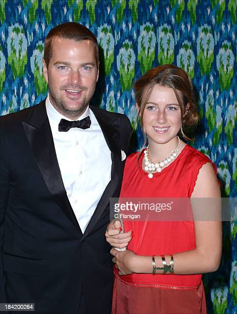 Chris O'Donnell and Caroline Fentress arrive at HBO's Annual Primetime Emmy Awards Post Award Reception at The Plaza at the Pacific Design Center on...