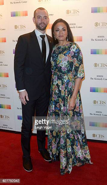 Chris O'Donnell and Caroline Fentress arrive at the 39th Annual Kennedy Center Honors at The Kennedy Center on December 4 2016 in Washington DC