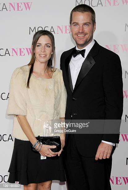 Chris O'Donnell and Caroline Fentress arrive at The Museum Of Contemporary Art Los Angeles as it celebrates the 30th Anniversary of the Museum on...