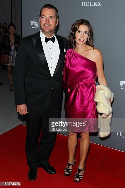 Chris O'Donnell and Caroline Fentress attend the LA Philharmonic's Walt Disney Concert Hall 10 Year Anniversary Celebration at Walt Disney Concert...