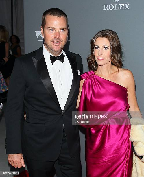 Chris O'Donnell and Caroline Fentress attend the LA Philharmonic's Walt Disney Concert Hall 10 Year Anniversary Celebration at Walt Disney Concert...