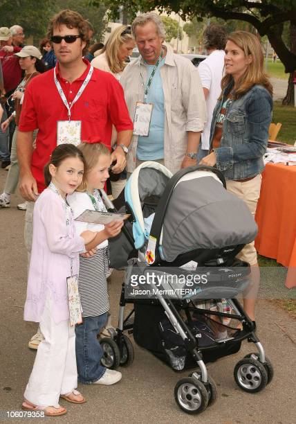 Chris O'Donnell and family during NRDC's Day Of Discovery Arrivals at Wadsworth Theater Grounds in Brentwood California United States