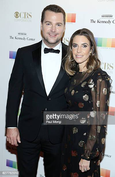 Chris O'Donnell and his wife Caroline Fentress arrive at the 39th Annual Kennedy Center Honors at The Kennedy Center on December 4 2016 in Washington...