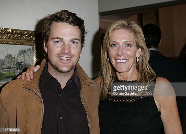 Chris O'Donnell and Janet Crown Peterson during Stars Make Their Voices Heard at a Silent Auction for Lollipop Theater Network at Private Home in...