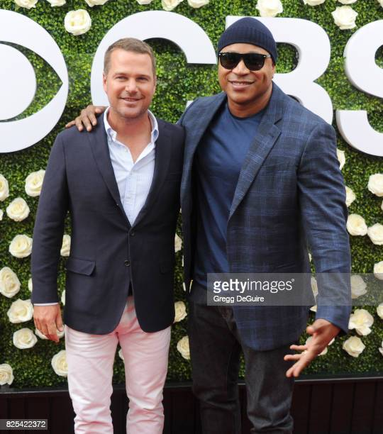 Chris O'Donnell and LL Cool J arrive at the 2017 Summer TCA Tour - CBS Television Studios' Summer Soiree at CBS Studios - Radford on August 1, 2017...