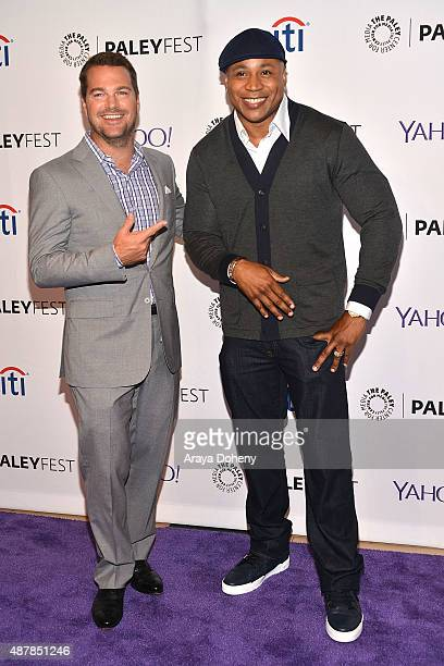 Chris O'Donnell and LL Cool J attend The Paley Center for Media's PaleyFest 2015 Fall TV preview of 'NCIS Los Angeles' at The Paley Center for Media...