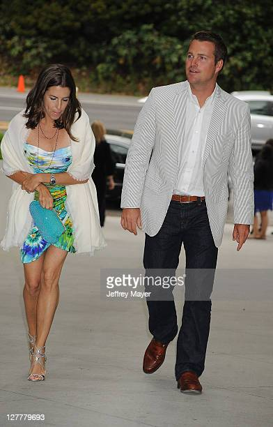 Chris O'Donnell and wife Caroline Fentress attend the Natural Resources Defense Council's Ocean Initiative Benefit Hosted By Chanel on June 4, 2011...