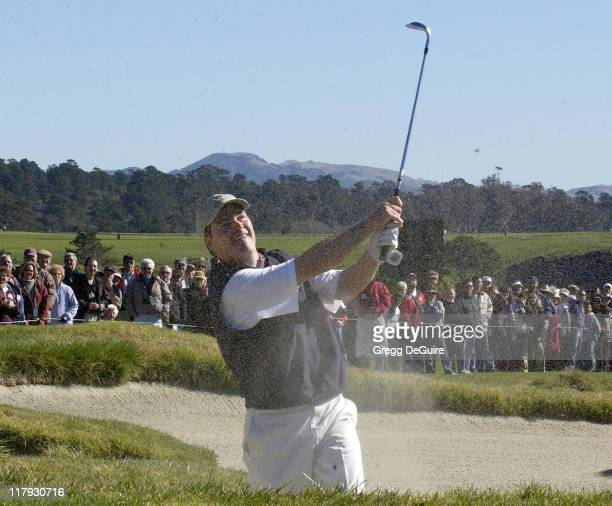 Chris O'Donnell during 3M Celebrity Challenge at the ATT Pebble Beach National ProAm at Pebble Beach Golf Links in Carmel California United States