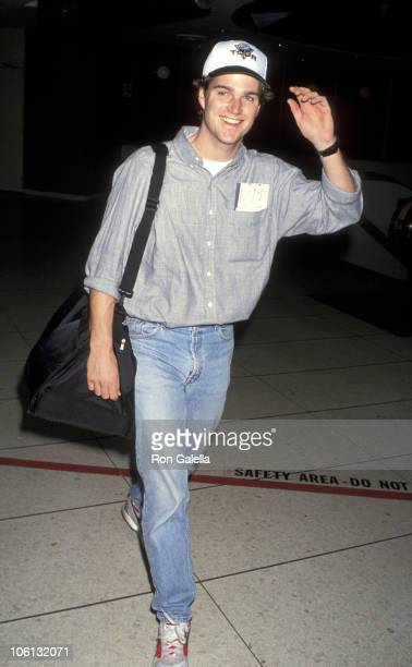 Chris O'Donnell during Chris O'Donnell Sighting at LAX March 4 1993 at Los Angeles International Airport in Los Angeles California United States