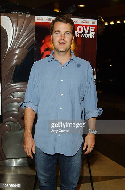 Chris O'Donnell during 'I Love Your Work' Los Angeles Premiere at Laemmle Fairfax Theater in Los Angeles California United States
