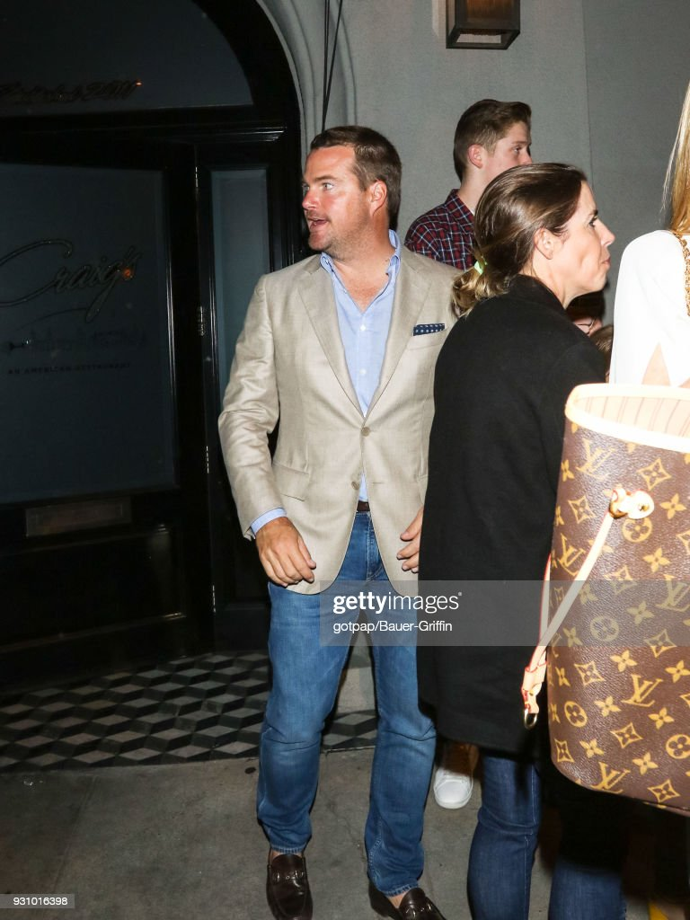 Chris O'Donnell is seen on March 11, 2018 in Los Angeles, California.