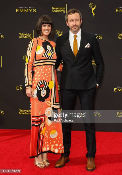 Chris O'Dowd and Dawn O'Porter attend the 2019 Creative Arts Emmy Awards on September 15, 2019 in Los Angeles, California.