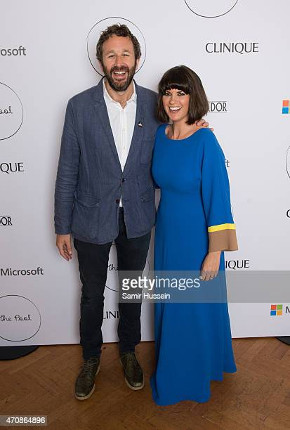Chris O'Dowd and Dawn O'Porter attend the launch party for The Pool a unique multimedia platform for busy women cofounded by renowned editor and...