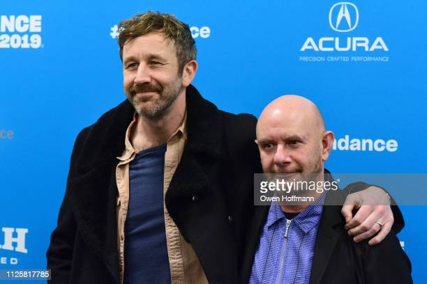 Chris O'Dowd and Nick Hornby attend 'State Of The Union' Red Carpet at The Ray on January 28 2019 in Park City Utah