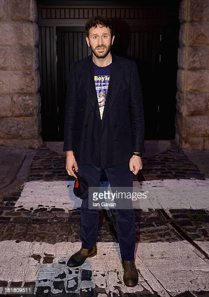 Chris O'Dowd, Arthur Guinness Projects panelist, prior to the From The Storehouse With Dermot Whelan show, which aired on RTE 2, ahead of this year's...