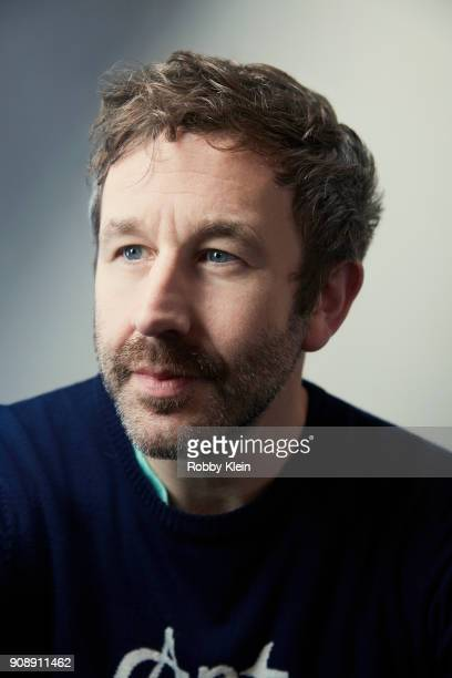 Chris O'Dowd from the film 'Juliet Naked' poses for a portrait at the YouTube x Getty Images Portrait Studio at 2018 Sundance Film Festival on...