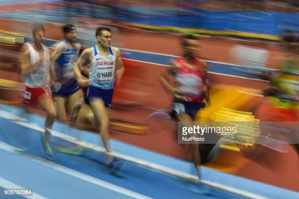 Chris O'Hare ofGreat Britainat 1500 meter atWorld indoor Athletics Championship 2018 Birmingham England on March 3 2018